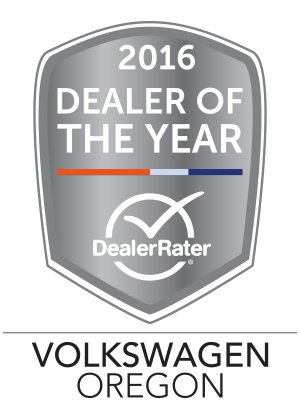 VW of Portland 2016 DealerRater Volkswagen Dealer of the Year Oregon