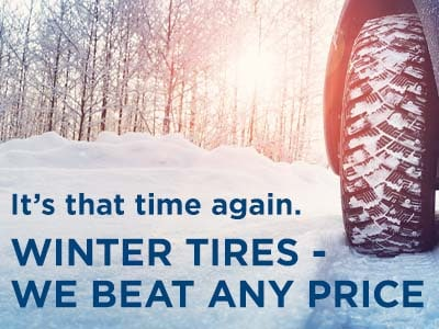 Winter Tires - We Beat Any Price